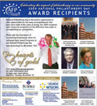 National Philanthropy Day Newspaper Ad