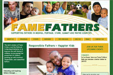 Fame Fathers Website